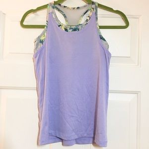 Old navy active lavender sports top size xl